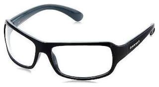 Fastrack Black Men's Wrap Around Sunglasses