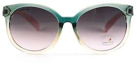 Fastrack UV protected Round Sunglasses ( P381PK4F)