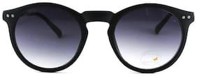 Fastrack UV protected Round Sunglasses (P383BK12)