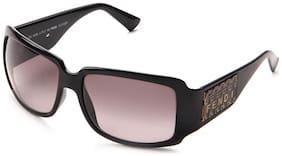 Fendi Black Rectangular Frame Sunglasses