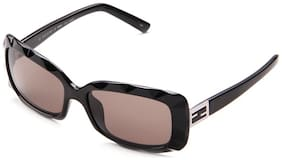 Fendi Black Rectangle Sunglass