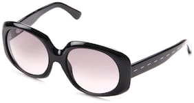 Fendi Black Round Frame Sunglasses