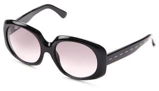 be8b68a8aac Buy Fendi Black Round Frame Sunglasses Online at Low Prices in India ...