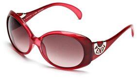 Fendi Red Bug Eye Sunglass