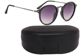 Flynn Mirrored lens Round Frame Sunglasses for Men - 1