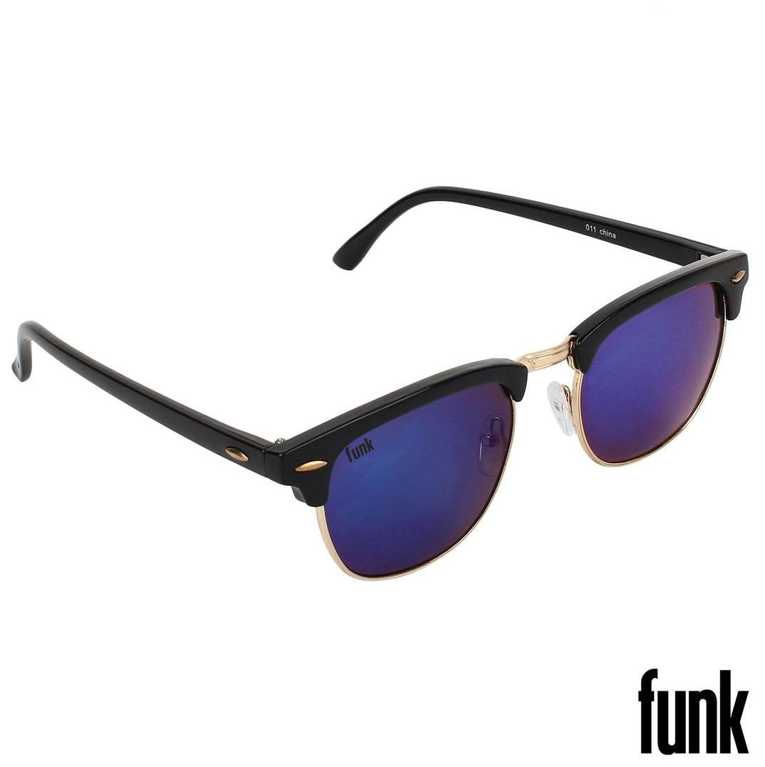 c03d8c34a6 Buy FUNK Blue Mercury Stylish Clubmaster Sunglass Online at Low Prices in  India - Paytmmall.com