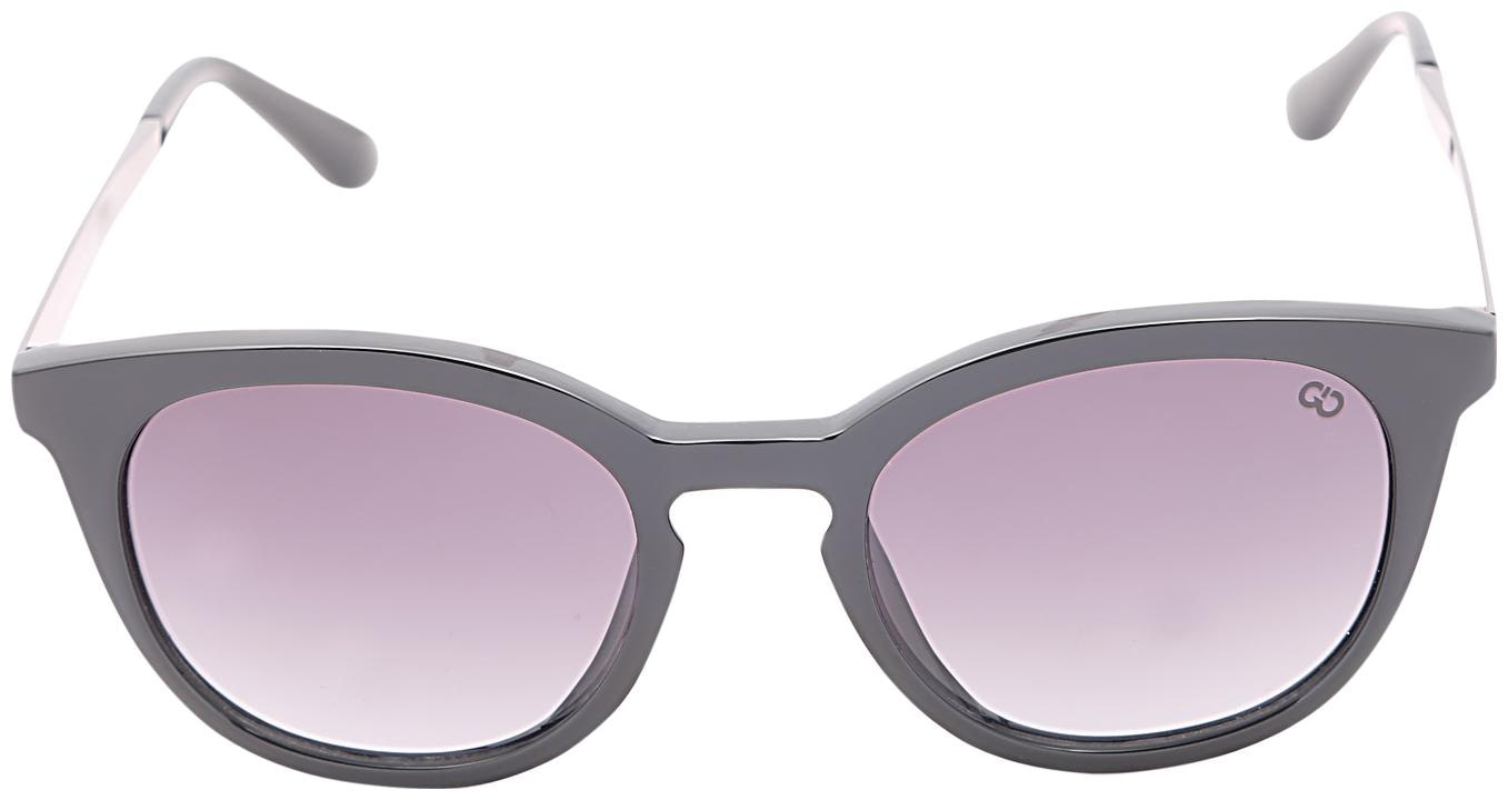 0280b1a7e4 Buy GIO COLLECTION Grey Oval Frames Small Sunglasses Online at Low Prices  in India - Paytmmall.com