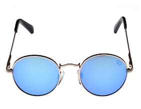 GIO COLLECTION Blue Heart Medium Sunglasses