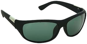 Dervin Black Men's Wrap Around Sunglasses