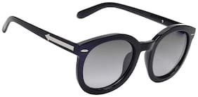 Hawai Black Frame Round Frame Sunglasses