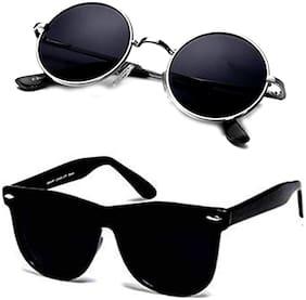 HH Regular lens Round Frame Sunglasses for Men - 2