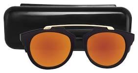 HH Polarized lens Round Frame Sunglasses for Men
