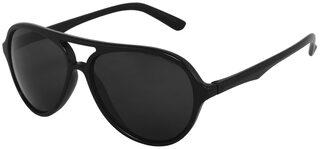 HH UV Protected Black Aviator Sunglasses