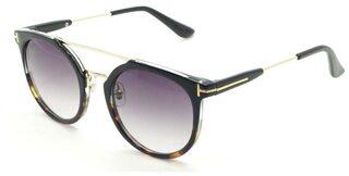i-gog Black Round Frame Sunglass