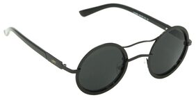 I-GOG Black Round Sunglasses