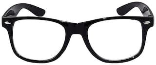 I KING EXPRESS Black Wayfarer Full Rim Eyeglasses for Men - 1 sunglass