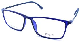 IDEE 1516 C4 SIZE 54 BLUE RECTANGLE EYEGLASSES