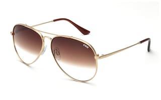 9858419c9be Buy IDEE Brown Aviator Medium Sunglasses Online at Low Prices in ...