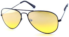 IDEE Regular lens Aviator Sunglasses for Men , 1