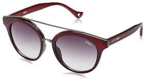 IDEE Gradient Round Women'S Sunglasses - (Ids2170C4Sg|52|Smoke Gradient Color)