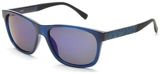 IDEE Mirrored lens Wayfarer Sunglasses for Men , Sunglass & Box
