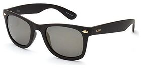 IDEE Mirrored Square Women's Sunglasses - (IDS2422C9PSG|50|Gold and Mirror-Smoke Color Lens)
