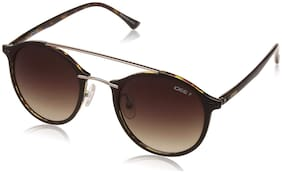 IDEE Mirrored lens Round Frame Sunglasses for Women