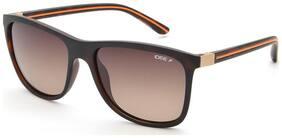 IDEE Polarized lens Rectangular Frame Sunglasses for Men , Sunglass & Box