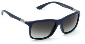 IDEE S2235-C5P Medium 56mm Black Polarized Wayfarer Sunglasses