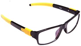 Igypsy Rectangular Frame Black Eyewear
