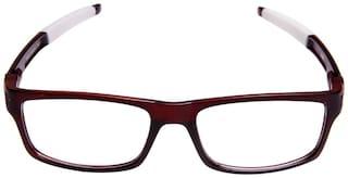 Igypsy Rectangular Frame Brown Eyewear