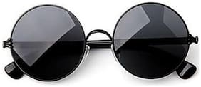 Imported Black Round Sunglasses For Men And Women