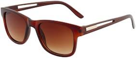 Imported Brown Gradient Designer Wayfarer Unisex Sunlgasses - SS1408