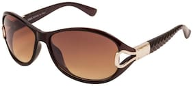 Imported Butterfly Sunglass For Women Brown Size-M