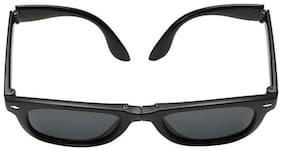 Imported Folding Wayfarer Sunglasses (Black)