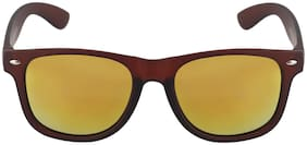 Men Mirrored Lens Wayfarers - Pack Of 1