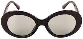 Invu Regular lens Oval Frame Sunglasses for Women