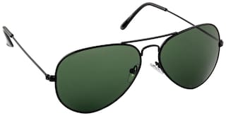 Irayz Black Aviator Sunglass