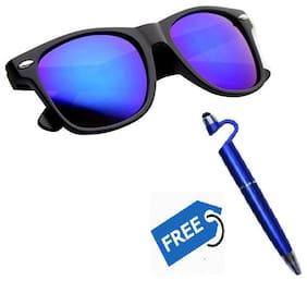 Ivonne Mirrored lens Wayfarer Sunglasses for Men , 2