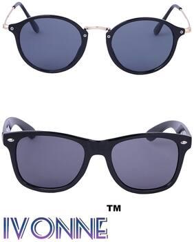 Ivonne Polarized lens Round Frame Sunglasses for Men - 2