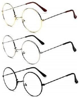 Ivonne Mirrored lens Round Frame Sunglasses for Men - 3
