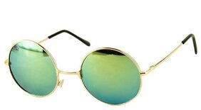 Ivonne Round Sunglasses  (Green)