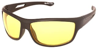Ivonne Special night and day driving Yellow Medium Sunglasses