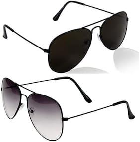 Ivonne Regular lens Aviator Sunglasses for Men , 2