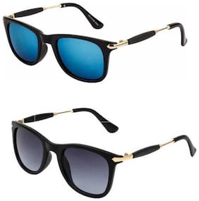 Ivonne Mirrored lens Wayfarer Sunglasses for Men , 2
