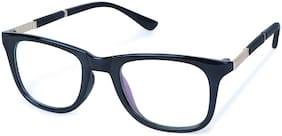 Ivonne Black Wayfarer Full Rim Eyeglasses for Men - 1