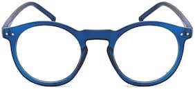Ivy Vacker Anti-Glare Round Eyeglasses for Men