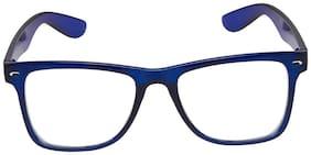Ivy Vacker Blue Anti-Glare Wayfarer Sunglass for Men