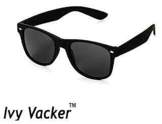 Ivy Vacker Full Black Wayfarer Sunglass for Men