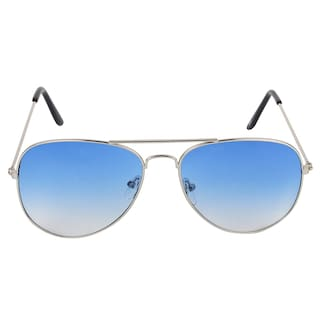 Ivy Vacker Blue Aviator Medium Sunglasses
